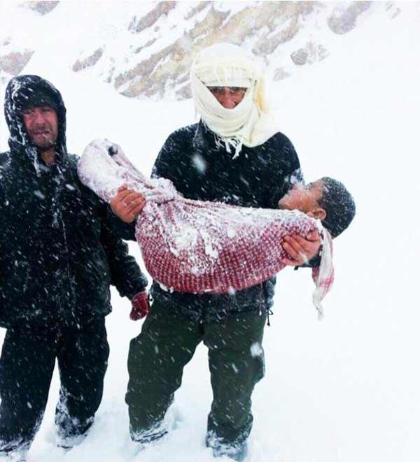 المعقول البرد يقتل انسانا???!!
