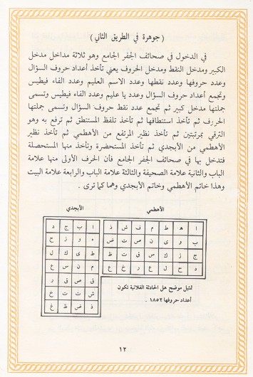 كتاب علم الجفر والاسماء